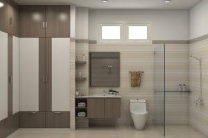 Gợi ý thiết kế giúp phòng tắm nhỏ trông rộng hơn