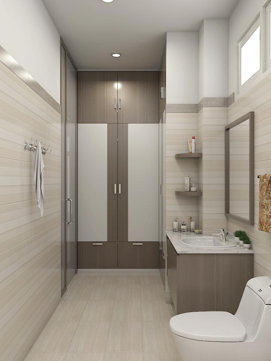 Gợi ý thiết kế phòng tắm nhỏ trông rộng hơn
