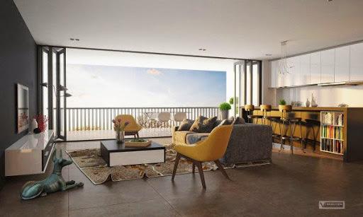 Cuối cùng, thiết kế tuyệt đẹp nối phòng khách mở với cả thế giới bên ngoài.