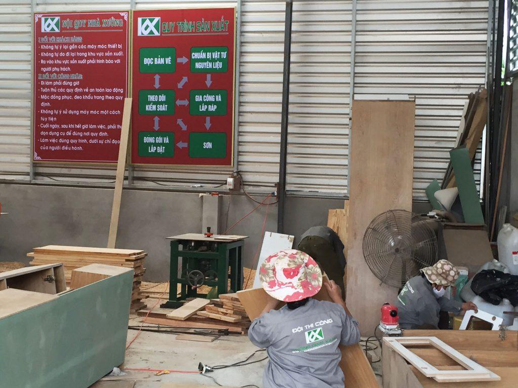 Thi công đồ gỗ ở Tp Vũng Tàu