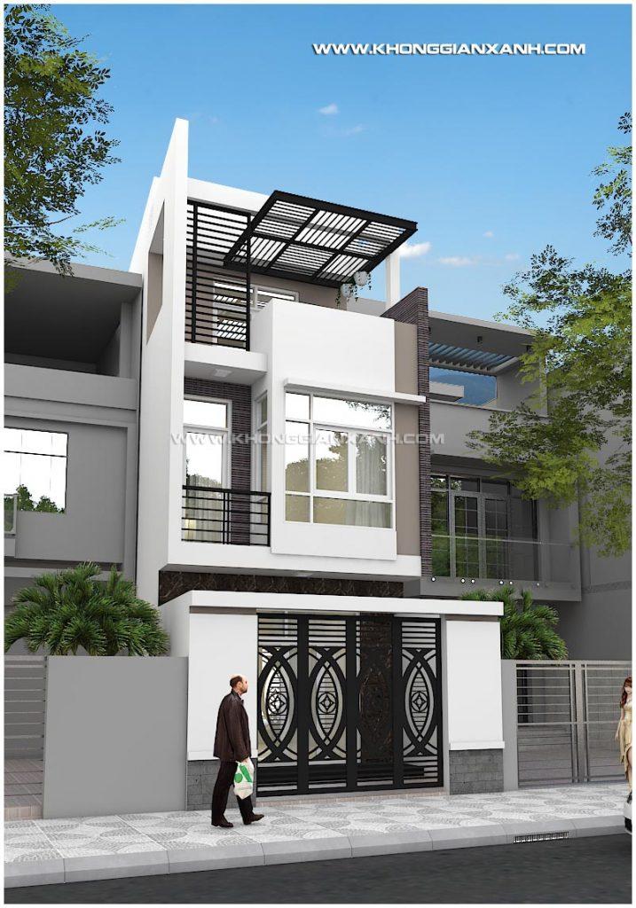 Thiết kế nhà phố ở Tp Vũng Tàu