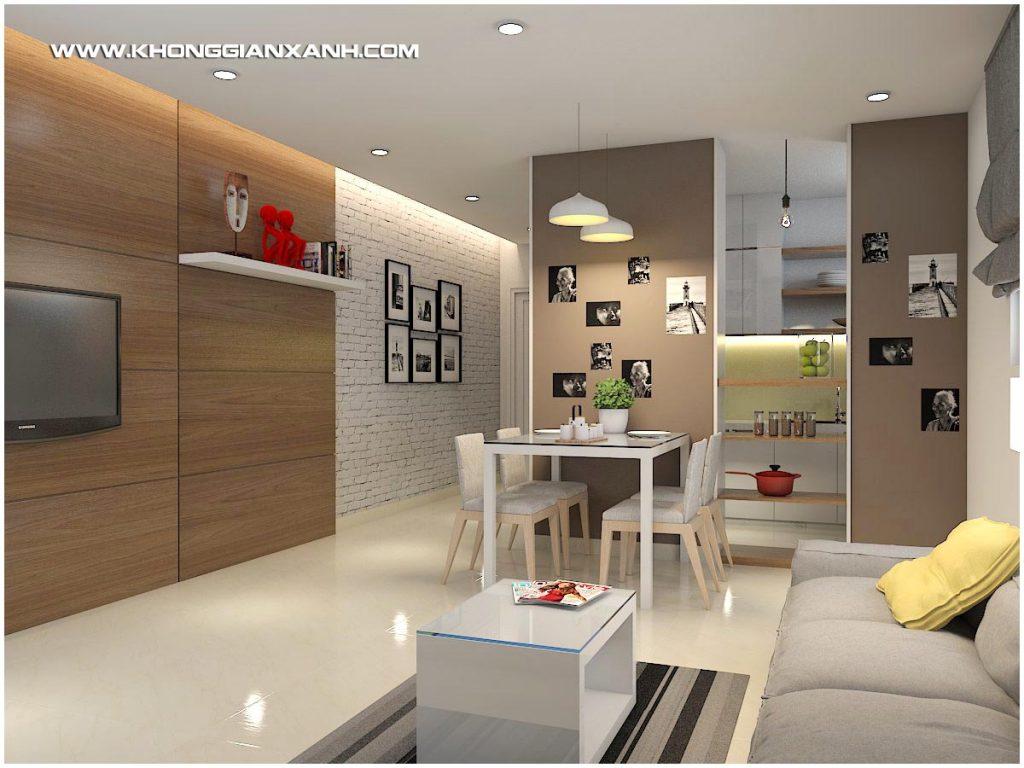 Thiết kế nội thất chung cư Vũng Tàu Center