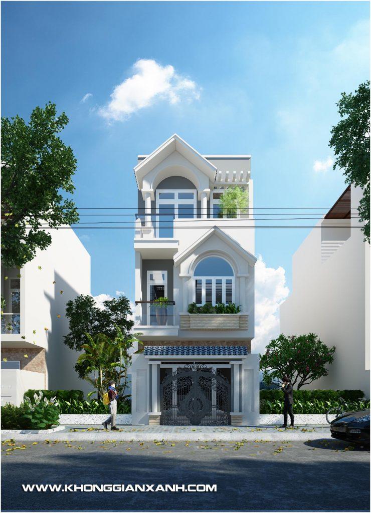 Thiết kế nhà phố Vũng Tàu