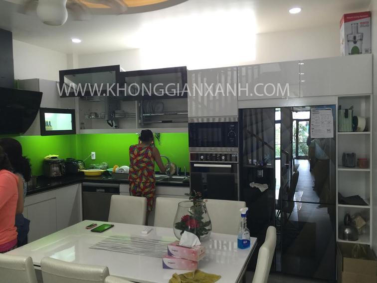 Công trình thực tế thi công nội thất nhà phố quận Tân Phú, HCM