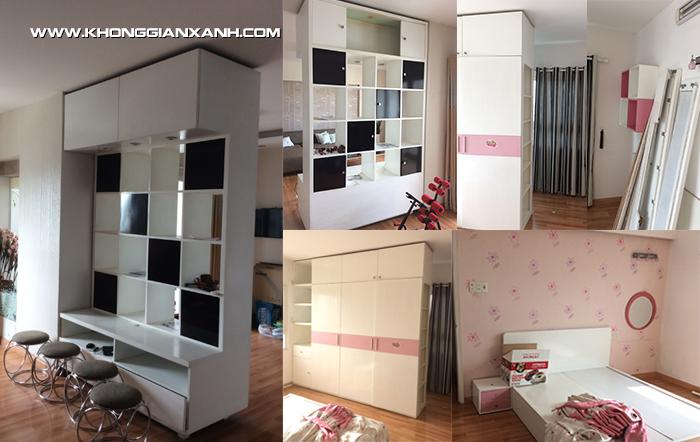 Hình ảnh căn hộ trước khi cải thiện