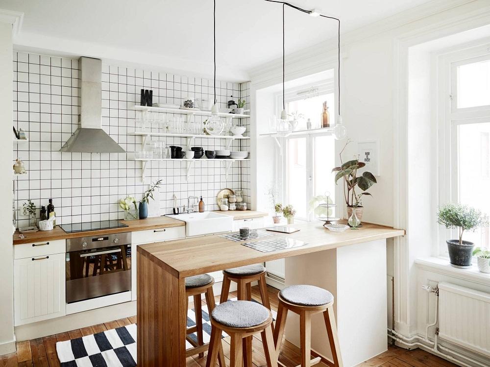 nhà bếp nhỏ