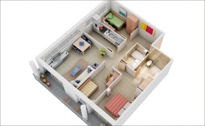 mẫu căn hộ