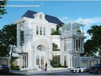 Thiết kế biệt thự tân cổ điển ở Vũng Tàu