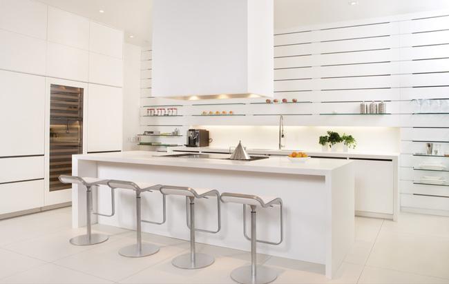 bếp trắng