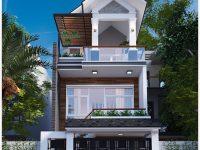 Thiết kế nhà phố 3 tầng tại Vũng Tàu – Mr Hùng