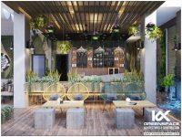 Thiết kế quán Cafe vườn Vũng Tàu