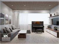 Thiết kế nội thất căn hộ tầng 9, lô C Diamond Sea