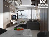 Thiết kế nội thất chung cư Diamond Sea 75m2