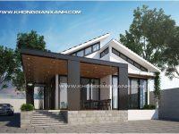 Thiết kế biệt thự vườn huyện Tân Thành