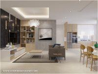 Thiết kế và thi công nội thất chung cư 81m2