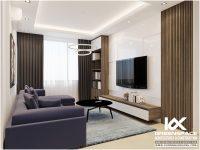 Thiết kế nội thất căn hộ Lapen Center 81m2