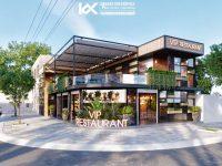 Thiết kế nhà hàng tại Quảng Nam – Đường Tàu 2