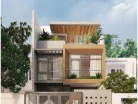 Thiết kế nhà phố Vũng Tàu – Chị Thắm