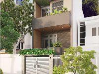 Thiết kế nhà phố 4 tầng tại Vũng Tàu