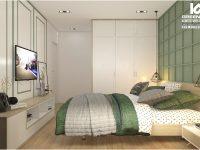 Thiết kế căn hộ 82m2 chung cư Residence