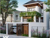 Thiết kế nhà phố diện tích 106m2 Hội An