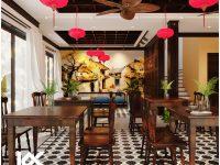 Thiết kế nội – ngoại thất khách sạn Phúc Thảo