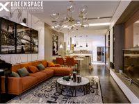 Thiết kế nội thất chung Saigon Pearl 106m2