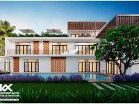 Thiết kế biệt thự tại Tây Ninh – Villa Mai Phương