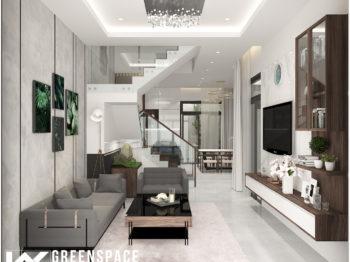 Thiết kế nội thất nhà phố 3 tầng Vũng Tàu