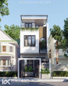 Thiết kế nhà phố diện tích nhỏ