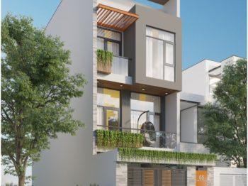 Thiết kế - thi công nhà phố 3 tầng