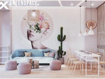 Thiết kế nội thất Spa làm đẹp - GIN SPA