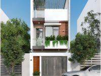 Thiết kế nhà phố hiện đại Vũng Tàu – chị Thanh
