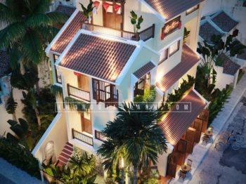 Thiết kế công trình nhà ở kết hợp kinh doanh lưu trú