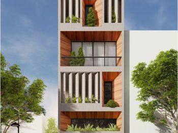 Cải tạo kiến trúc nhà văn phòng Tp Vũng Tàu