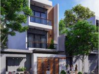 Thiết kế nhà phố 100m2 Vũng Tàu