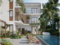 Thiết kế biệt thự có hồ bơi.