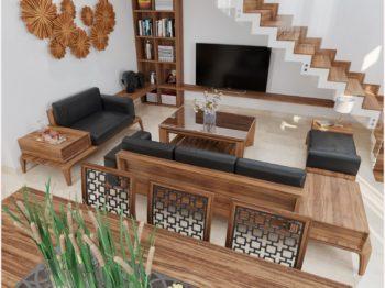 Thiết kế nội thất biệt thự 4 tầng Hội An