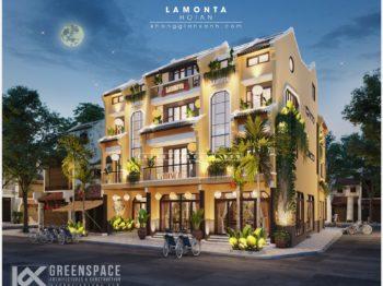 Thiết kế cơ sở lưu trú tại Hội An - LAMONTA HOTEL