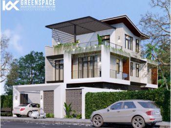 Thiết kế biệt thự hiện đại phường 9 - Vũng Tàu