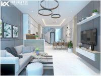 Thiết kế nội thất nhà phố đường Bà Triệu, Vũng Tàu