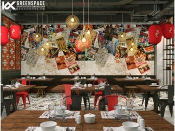 Thiết kế nhà hàng ẩm thực Trung Hoa tại Malaysia