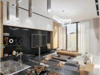 Thiết kế nội thất ấn tượng cho biệt thự phố