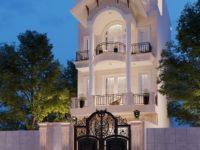 Thiết kế nhà phố tân cổ điển Vũng Tàu
