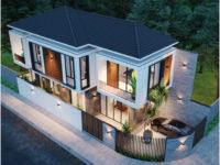 Thiết kế biệt thự 2 mặt tiền Quảng Nam