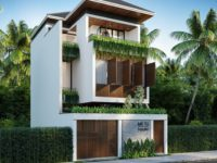 Thiết kế nhà phố đẹp Hội An
