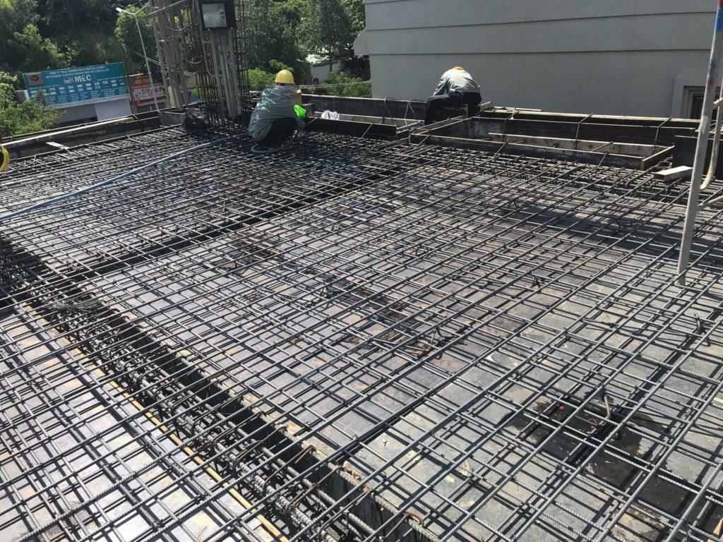 Kết cấu sắt sàn và khung