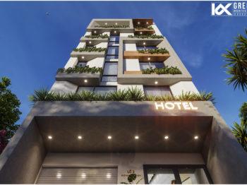 Thiết kế khách sạn 9 tầng Vũng Tàu
