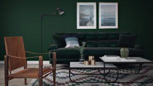 Thiết kế nội thất bọc nệm thập niên 60