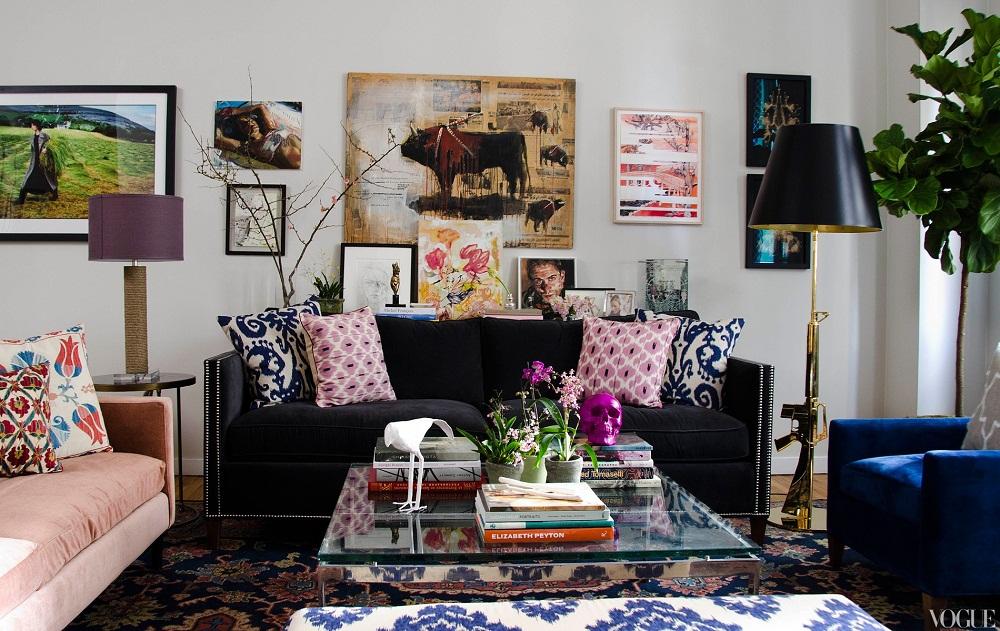 Thiết kế nội thất phong cách Bohemian